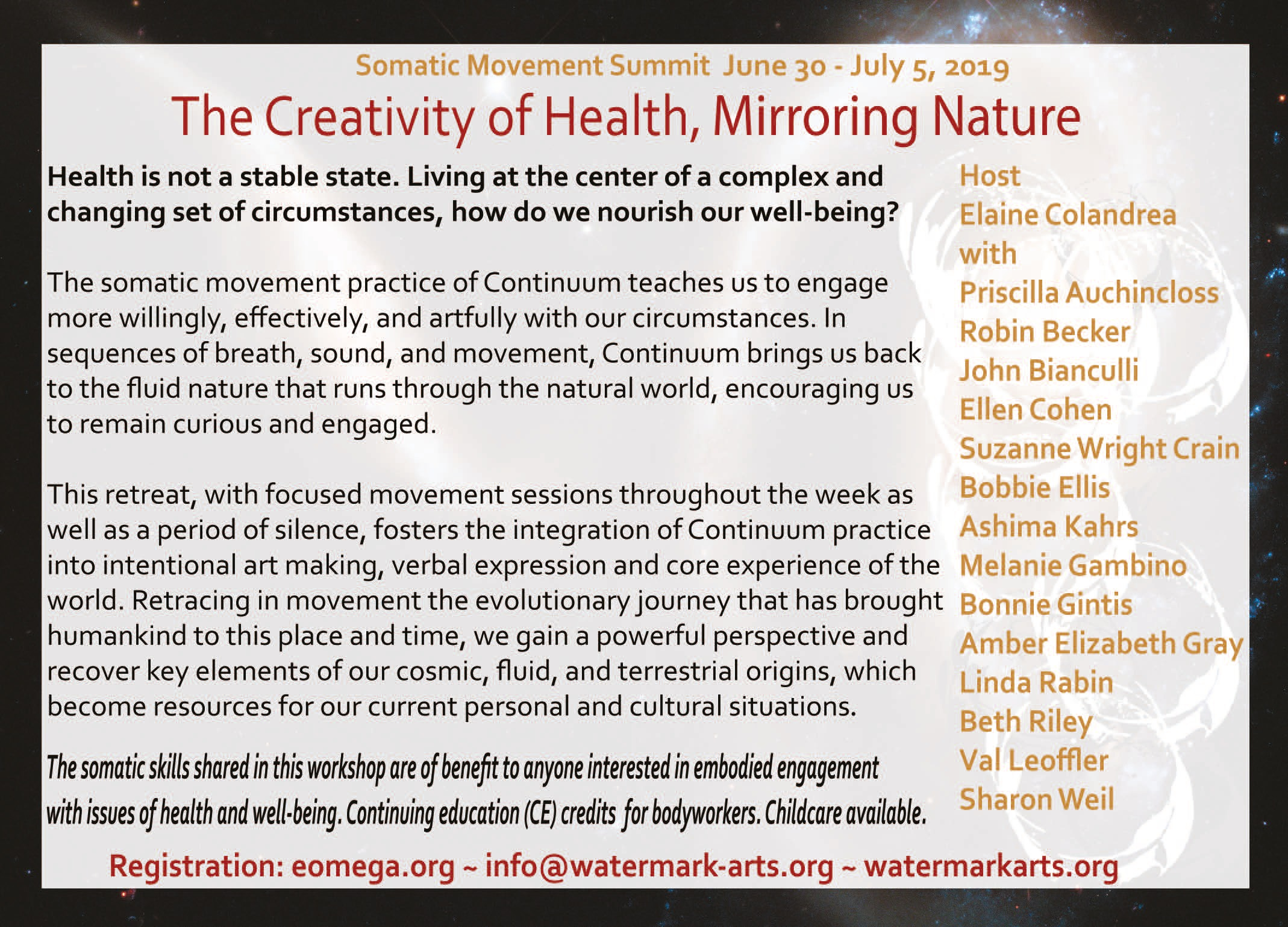 The Creativity of Health, Mirroring Nature